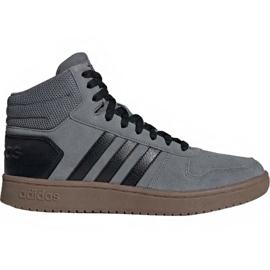 Zapatillas Adidas Hoops 2.0 Mid M EE7367 gris