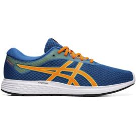 Asics Patriot 11 M 1011A568 401 zapatillas de running azul
