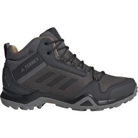 Zapatillas Adidas Terrex AX3 Mid Gtx M BC0468 gris