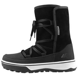 Zapatos de invierno 4F W D4Z19-OBDH201 21S negro