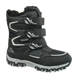 Zapatillas Kappa Great Tex Boot Jr 260558T-1115 negro