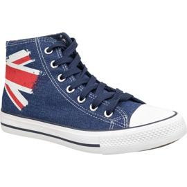 Zapatillas Lee Cooper High Cut 1 LCWL-19-530-041 azul