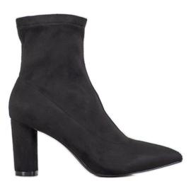 Filippo Elegantes botas sin cordones negro