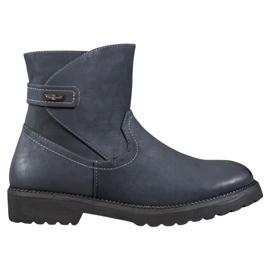Sergio Leone Cómodas botas azul marino