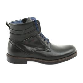 Botas con cremallera negra Nikopol 700 negro