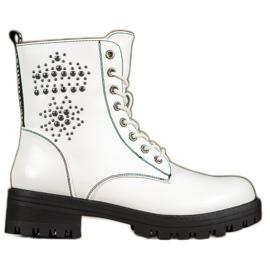 Goodin Botas blancas blanco