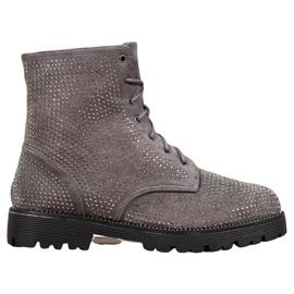 Sweet Shoes Botines de ante grises