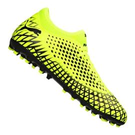 Botas de fútbol Puma Future 4.4 Mg Jr 105697-03 amarillo amarillo
