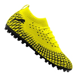 Botas de fútbol Puma Future 4.2 Netfit Mg M 105681-02 amarillo