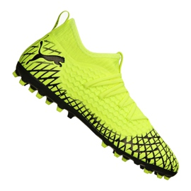 Botas de fútbol Puma Future 4.3 Netfit Mg M 105684-03 amarillo amarillo