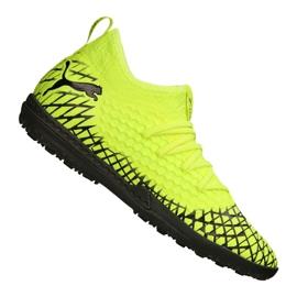 Botas de fútbol Puma Future 4.3 Netfit Tt M 105685-03 amarillo amarillo