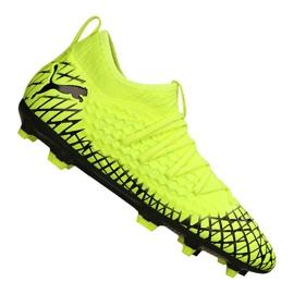 Botas de fútbol Puma Future 4.3 Netfit Fg / Ag Jr 105693-03 amarillo amarillo