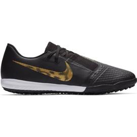 Nike Zapatillas de fútbol Nike Phantom Venom Academy M Tf AO0571 077 negro oro negro