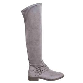 Kylie Tacones altos gris