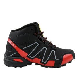 Zapatillas de trekking con aislamiento negro BN8810