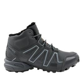 Zapatillas de trekking con aislamiento gris BN8810