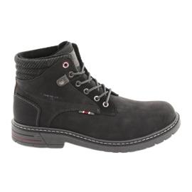 American club zapatos para hombres RH35 negro
