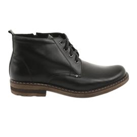 Botas negras de hombre Moskała BR-1 negro