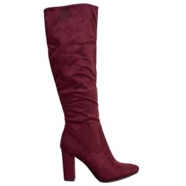 Elegantes botas VINCEZA rojo
