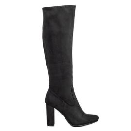 Elegantes botas VINCEZA negro