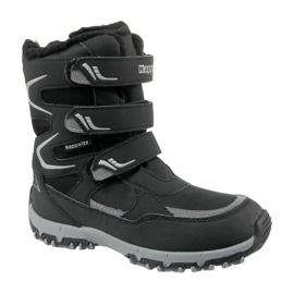Kappa Great Tex Jr 260558K-1115 botas de invierno negro
