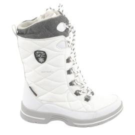 Botas de nieve con membrana American Club SN08 blanco