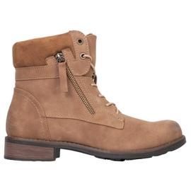 Goodin Botas marrones marrón