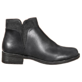 Small Swan Botines negros casuales