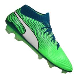 Botas de fútbol Puma One 18.1 Fg M 104869-03 verde verde