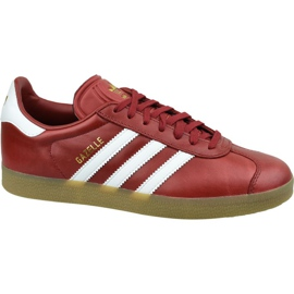 Zapatillas Adidas Gazelle W BZ0025 rojo