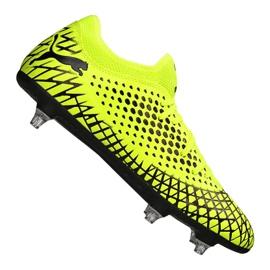 Botas de fútbol Puma Future 4.4 Sg Fg M 105687-02 amarillo amarillo