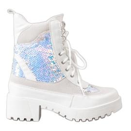 Seastar Botines en la plataforma de moda blanco