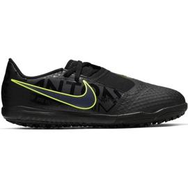 Zapatillas de fútbol Nike Phantom Venom Academy Tf Jr AO0377 007 negro verde negro