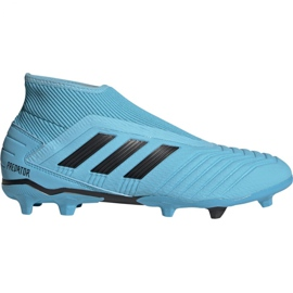 Zapatillas de fútbol Adidas Predator 19.3 Ll Fg M G27923 negro azul azul