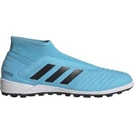 Zapatillas de fútbol Adidas Predator 19.3 Ll Tf M EF0389 azul negro azul