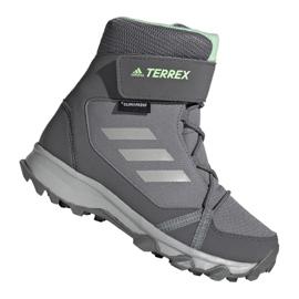 Adidas Terrex Snow Cf Cp Cw Jr G26580 calzado gris