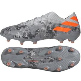 Zapatillas de fútbol Adidas Nemeziz 19.1 Fg M EF8281 gris