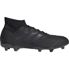 Adidas Predator 19.2 Fg M F35603 Calzado de fútbol negro negro