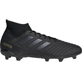 Zapatillas de fútbol Adidas Predator 19.3 Fg M F35594 negro negro