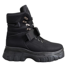 Seastar Botas de moda cálida negro