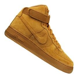 Nike Jr Air Force 1 High Lv 8 Gs Jr 807617-701 calzado amarillo