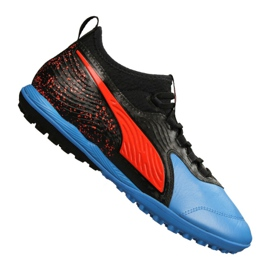 Botas de fútbol Puma One 19.3 Lth Tt Tr M 105489-01 negro