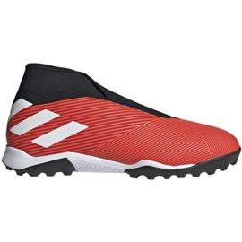 Zapatillas de fútbol Adidas Nemeziz 19.3 Ll Tf M G54686 negro rojo rojo