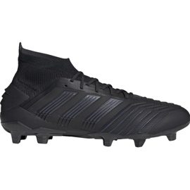 Botas de fútbol adidas Predator 19.1 Fg M negro negro
