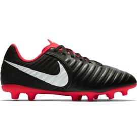 Zapatillas de fútbol Nike Tiempo Legend 7 Club Mg Jr AO2300 006 negro