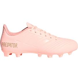 Zapatillas de fútbol Adidas Predator 18.4 M FxG DB2008 rosa rosa