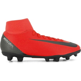 Zapatillas de fútbol Nike Mercurial Superfly 6 Club CR7 Mg M AJ3545 600 negro naranja rojo