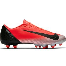 Zapatillas de fútbol Nike Mercurial Vapor 12 Academy CR7 Mg M AJ3721 600 negro naranja rojo
