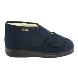 Zapatos de mujer befado pu 986D010 azul marino