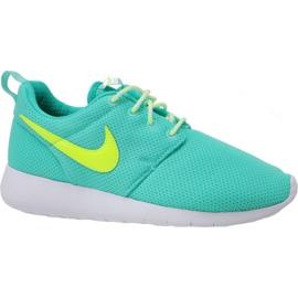 Nike Roshe One Gs W 599729-302 zapatos azul